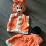 Костюм Белочки 3-5, 5-7 лет,Детский карнавальный костюм Белочки.