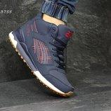 Зимние кроссовки Asics Gel Lyte III blue