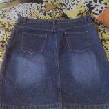 Юбка джинсовая 50-52р.
