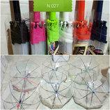 Зонт зонтик детский купольный прозрачный для мальчика и девочки 3-7 лет л