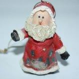 Игрушка новогодняя елочная, Рождество Дед Мороз Санта Клаус