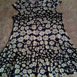 Ромашковое платье 48-50р.