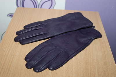 кожаные перчатки Marks&spencer разм M