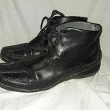Ботинки кожаные Clarks 38-39размер