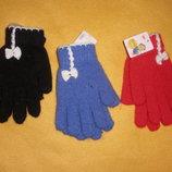 Перчатки для девочки подростковые ангора закрытие магазина