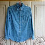 продам мужскую джинсовую сорочку