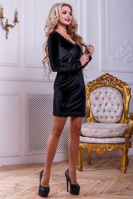 bd4f77b3d05 Утонченное и изысканное платье черного цвета 42-46р  490 грн ...