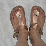 Шльопки шльопанці Benotti італія розмір 41, шлепки кожа