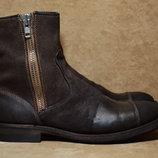 Кожаные ботинки от Silvano Sassetti. Италия. Оригинал. 42 р./27.5 см.