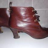 Ботинки женские кожанные HEOHO AMANO 38 р. Испания.