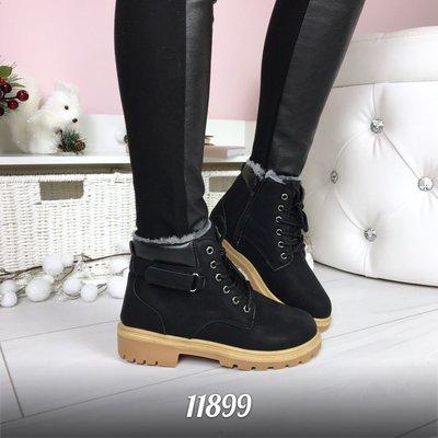 ba1866fae1fc Женские зимние черные ботинки тимберленд  500 грн - зимние ботинки в ...
