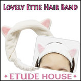 Повязка для волос с кошачьими ушками Etude House