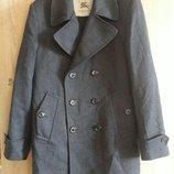 Burberry.Мужское шерстяное пальто