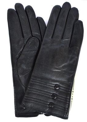 Женские кожаные зимние перчатки на натуральном меху