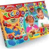 Набор для лепки Тесто для лепки Master Do 15цветов 20г Danko toys TMD-03-04 лепка пластилин