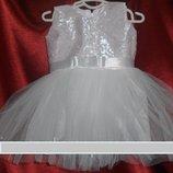 Новый Год Красивые карнавальные платья для 1-2 лет