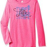 кофта свитер лонгслив туника Adidas Climalite на девочку 6 лет