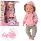 Кукла пупс Baby Born BL020O 8 функций, 9 аксессуаров