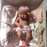 Кукла Nica с гардеробом, 42 см., Antonio Juan, 5073, как реборн, Антонио Хуан, Antonio Juan Paola Re