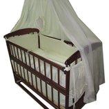 Акция Комплект кроватка ,матрас, постель. Новое.