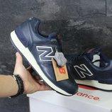 Зимние кроссовки New Balance 670 dark blue