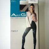 Колготки ArtG Twist 150 den cotton