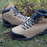 Зимние мужские ботинки Ecco Proof натуральная кожа , мех , акция
