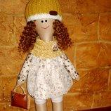 Куклы ручной роботы.Текстильные куклы.Интерерные куклы.Куклы для детей