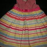 Хорошенькое платье George 12-18мес