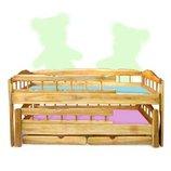 Двухъярусная кровать-трансформер Трембита