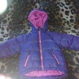 куртка пуховик весна осень ярче чем на фото