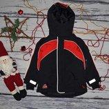 2 - 3 года 98 см H&M Яркая фирменная очень теплая зимняя термо куртка на мальчика
