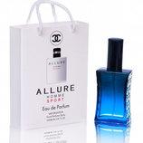 Chanel Allure Homme Sport в подарочной упаковке 50 мл для мужчин