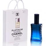 Chanel Egoiste Platinum в подарочной упаковке 50 мл для мужчин