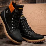 Зимние мужские ботинки Timberland 6 premium, на меху, натуральная кожа