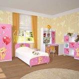 Детская корпусная мебель Мульти Мишки
