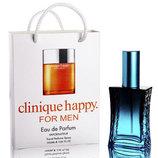 Мини парфюм Clinique Happy for men в подарочной упаковке 50 ml