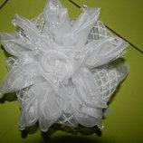 банты резинки белые для волос девочке новые продажа обмен