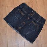 Джинсовая юбка Q159 - Пот 38 см
