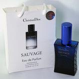 Christian Dior Sauvage в подарочной упаковке 50 ml