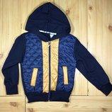 Детская курточка толстовка на молнии рр. 98-128 Beebaby Бибеби