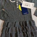 Красивущее платье с ланой для принцессы Оригинал.primigi.германия р.12мес 2 года.