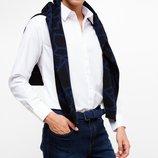 белоснежная мужская рубашка De Facto