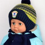 Комплект зимний шапка шарф