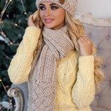 Комплект «Дюран» шапка и шарф Артикул 4601-10