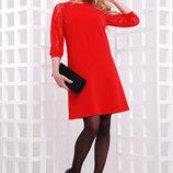 Нарядное платье с рукавом реглан