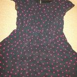 Платье с сердечками George 1,5-2г