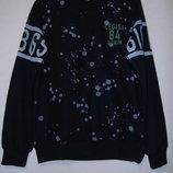 Коттон Зима - свитер - Кляксы рост 164 - 176