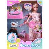 Кукла беременная с пупсиками и аксессуар. в кор. 8009 Defa Lucy
