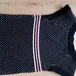 шикарное теплое платье джимбори, жилетка 4-6 лет